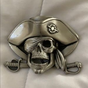 Pirate Belt Buckle